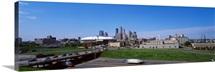 Buildings in a city, Minneapolis, Minnesota,