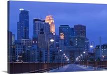 Buildings in a city, Minneapolis, Minnesota