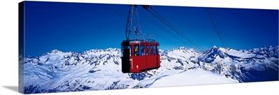Cable Car Andermatt Switzerland
