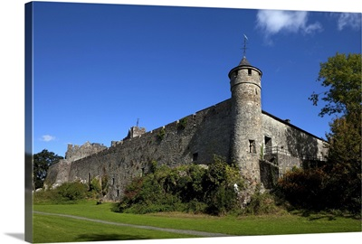 Caher Castle Built by the Butler Family, Caher, County Tipperary, Ireland