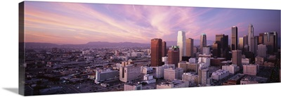 California, Los Angeles, High angle view of the city