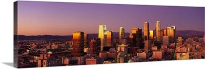 California, Los Angeles, sunset
