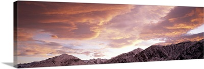 California, Sierra Nevada, range