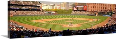 Camden Yards Baseball Game Baltimore MD