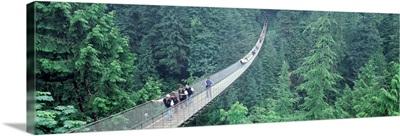 Canada, British Columbia, Vancouver, suspended walk
