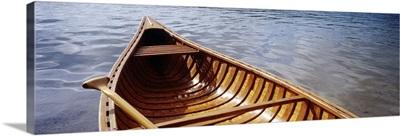 Canoe on Walden Pond MA