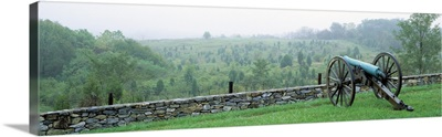 Canons Along Branch Ave Antietam National Battlefield MD