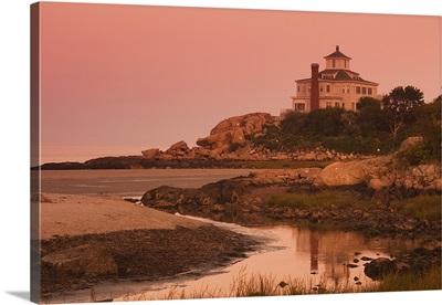 Castle on a hill, Good Harbor Beach, Gloucester, Cape Ann, Massachusetts