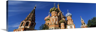 Cathedral, St. Basil's Cathedral, Red Square, Moscow, Russia