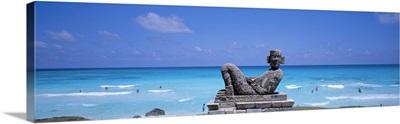 Chac Mool Altar Cancun Mexico