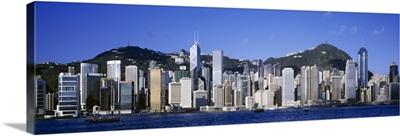 China, Hong Kong, central district