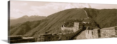 China, View of the Great Wall of China