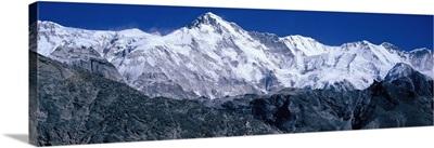 Cho Oyu from Goyko Valley Khumbu Region Nepal