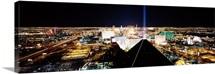 City from Mandalay Bay Resort and Casino, Las Vegas, Clark County, Nevada