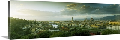 City from Piazzale Michelangelo, Florence, Tuscany, Italy