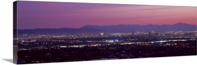 Cityscape at sunset Phoenix Maricopa County Arizona