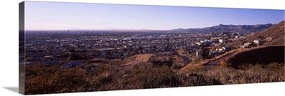 Cityscape, El Paso, Texas-Mexico Border