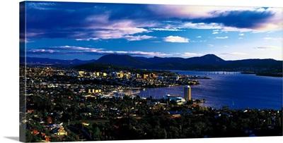 Cityscape Hobart Tasmania Australia