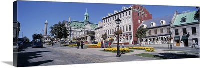 Cityscape Montreal Quebec Canada
