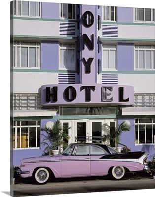 Classic Car Colony Hotel Miami Beach FL