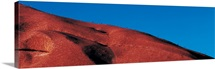 Climbers Ayers Rock Uluru Park Australia