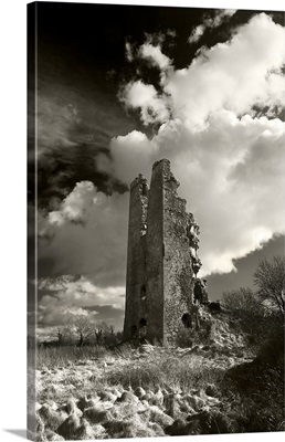 Clonea Castle, County Waterford, Ireland