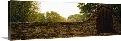 Close-up of a stone wall, County Kilkenny, Republic Of Ireland