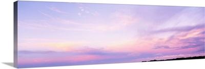 Cloud at sunset, Kauai, Hawaii