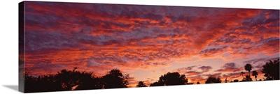 Clouds at Sunset Phoenix AZ