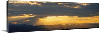 Clouds in the sky, Daniels Park, Denver, Colorado