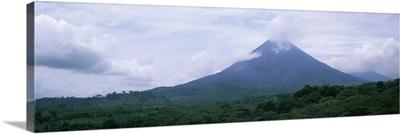 Clouds over a mountain peak Arenal Volcano Alajuela Province Costa Rica