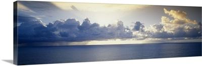 Clouds over an ocean, Hawaii