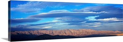 Clouds over Anza Borrego Desert State Park, Borrego Springs, California