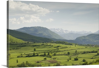 Clouds over mountains, Eastern Montenegro Mountains, Montenegro