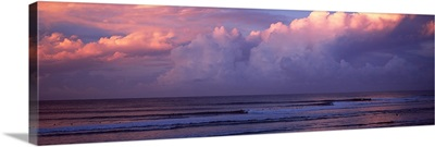 Clouds over the sea, Gold Coast, Queensland, Australia