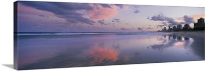 Clouds over the sea, Main Beach, Surfers Paradise, Queensland, Australia