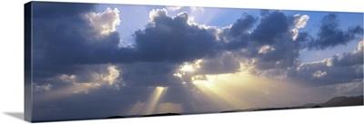 Clouds Pillsbury Sound US Virgin Islands