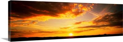 Cloudscape Norfolk England