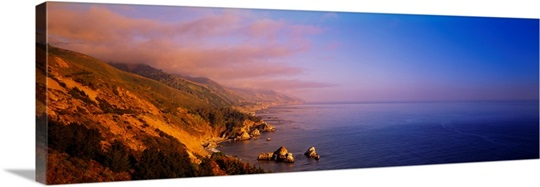 Coastline Big Sur CA