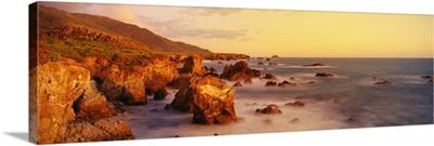Coastline Pacific Ocean CA