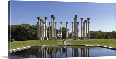 Columns at the poolside National Capitol Columns Washington DC