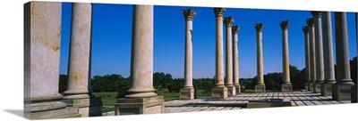Columns in a row, National Capitol Columns, National Arboretum, Washington DC