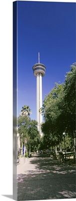 Communication tower in a park, Tower of The Americas, San Antonio, Texas