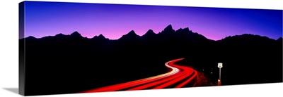 Composite Grand Tetons Route 66