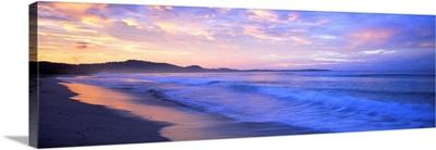 Costa Rica, beach at sunrise