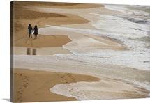 Couple Walking Makena Beach