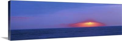Dark sunset over Cape May