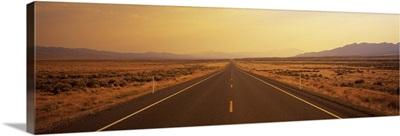 Desert Highway Nevada