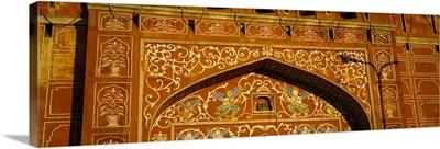 Details of a gate, ChandPole Gate, Jaipur, Rajasthan, India