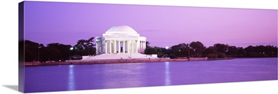 Dusk Jefferson Memorial Washington DC